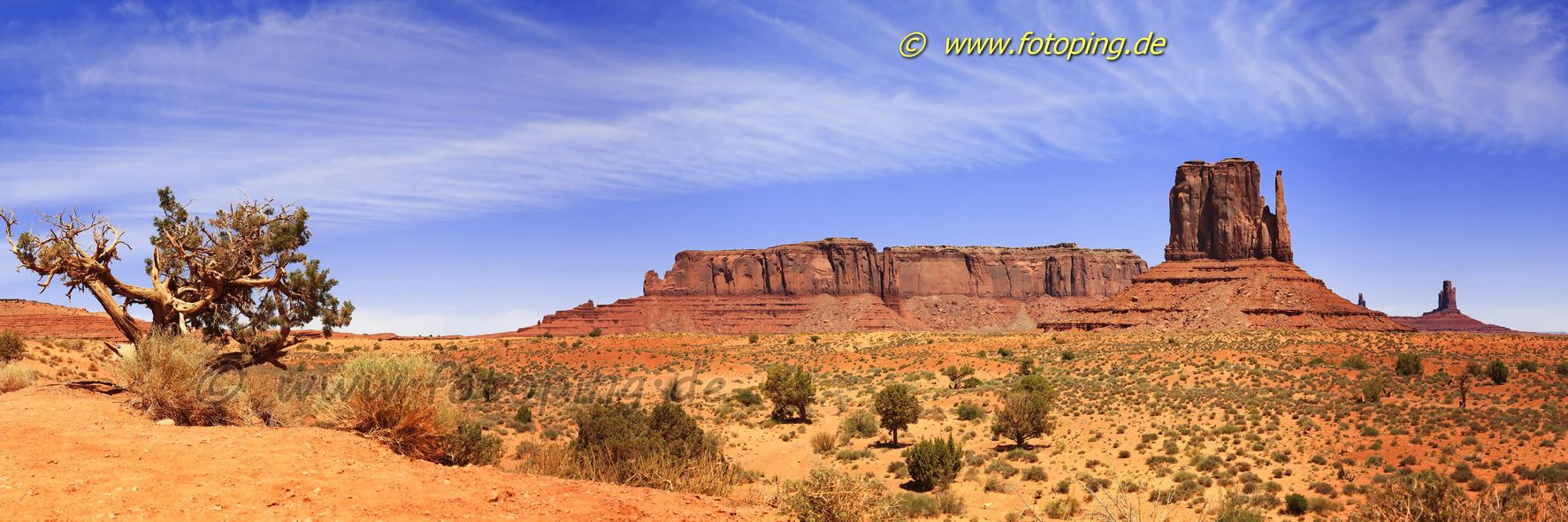 Monument Valley Landschaft